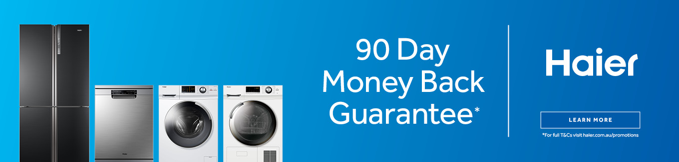 2021 Haier 90  Day Money Back Guarantee desktop