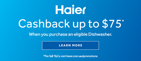 2021 Haier Dishwasher Cashback slider