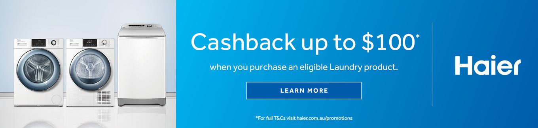 2021 Haier Laundry Cashback Desktop