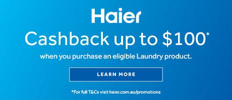 2021 Haier Laundry Cashback