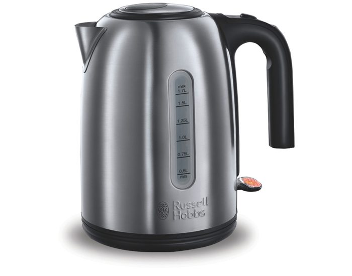 Russell Hobbs 20431AU 1.7L York Brushed Stainless Steel Kettle
