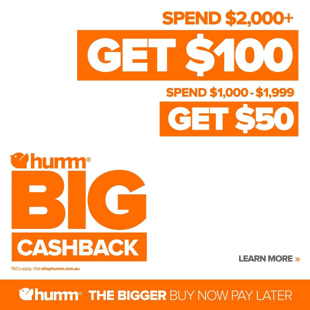 2021 Humm Cashback Offer Mobile
