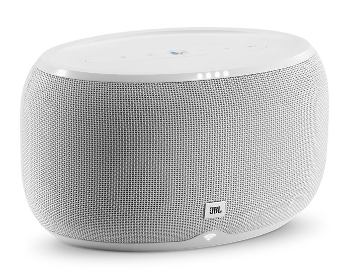 JBL 3983217 Voice Activated Portable Speaker - White