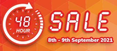 48 Hour Sale Starts 8 September