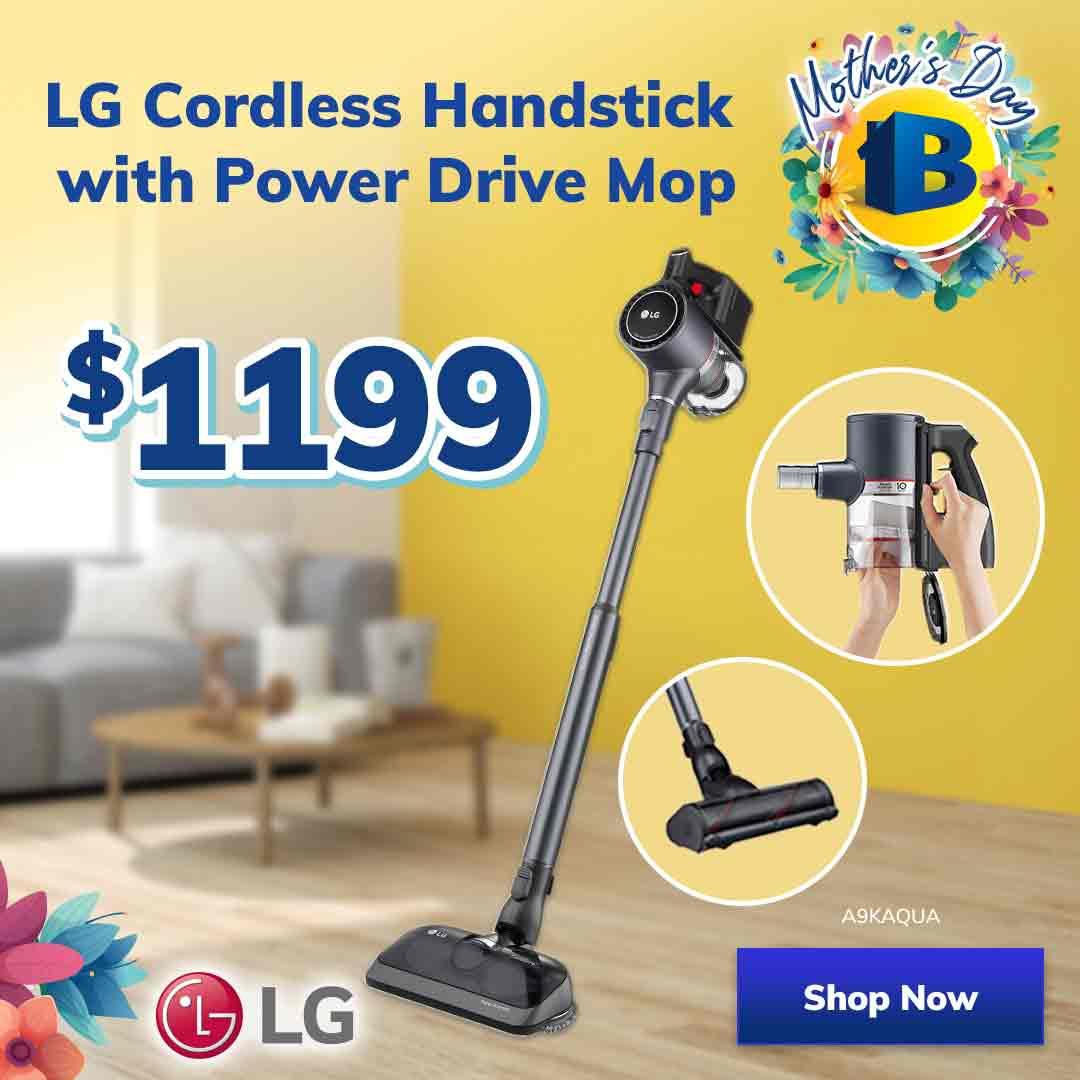April Catalogue Mothers Day Stick Vacuum Mobile