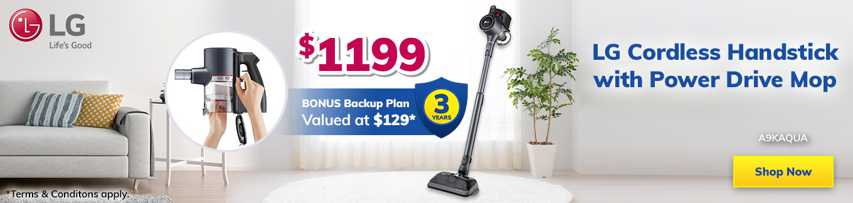 LG Month Cordless Vacuum Desktop
