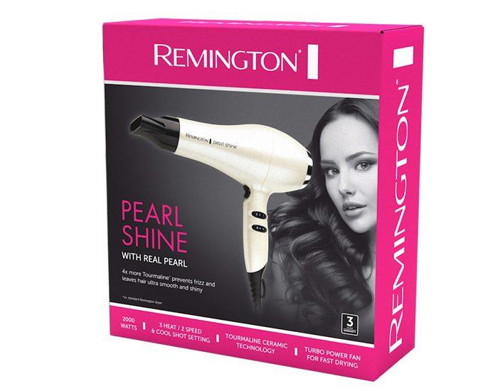 Remington AC2405AU 2000W Pearl Shine Hair Dryer