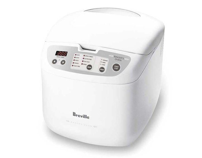 Breville BBM100WHT 650W the Baker's Oven Bread Maker