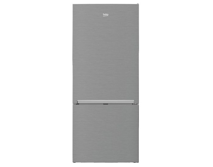 Beko BBM450X 445L Stainless Steel Bottom Mount Fridge/Freezer