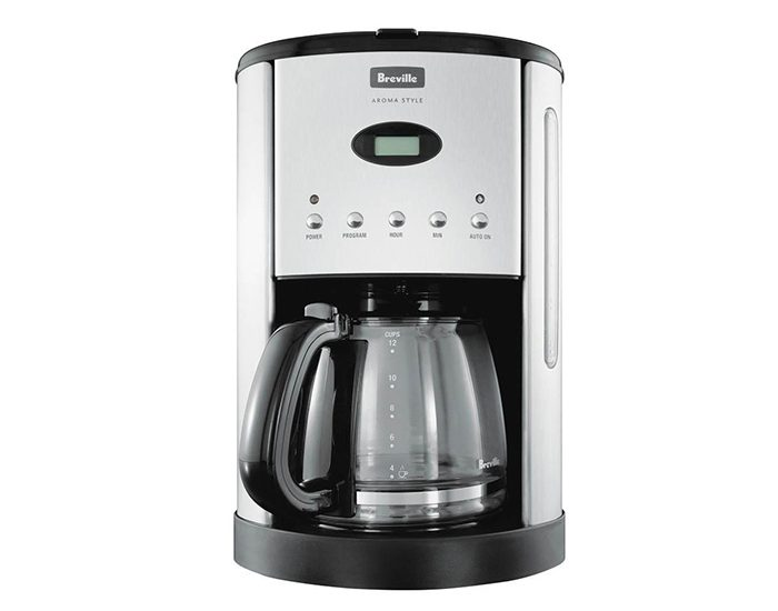 Breville BCM600BLK Aroma Style Electronic Coffee Grinder