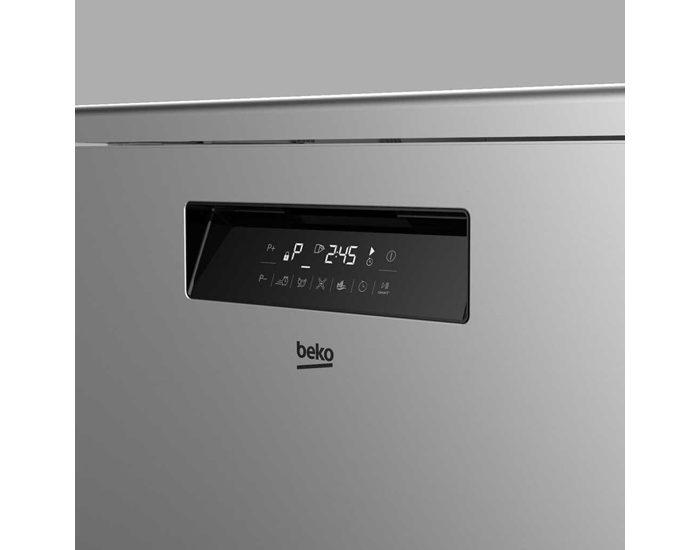 Beko BDF1630X 60cm Stainless Steel Freestanding Dishwasher