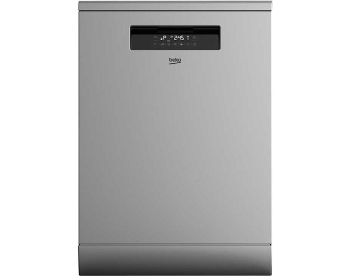 Beko BDF1630X 60cm Stainless Steel Freestanding Dishwasher
