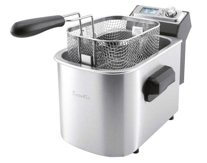 Breville BDF500BSS the Smart Fryer™ Deep Fryer