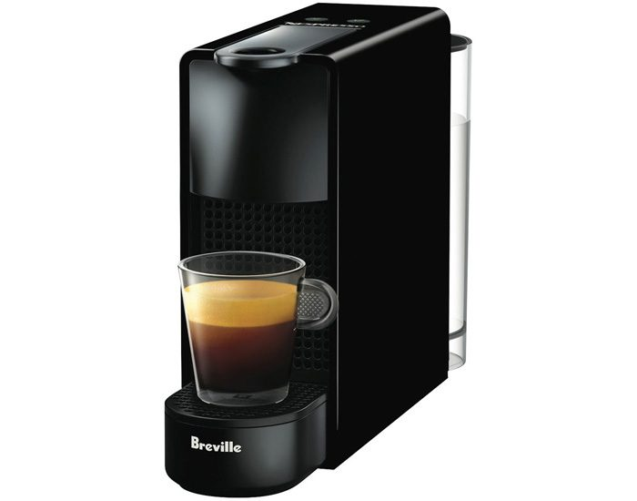 Breville BEC220BLK Essenza Mini Solo Coffee Machine - Black