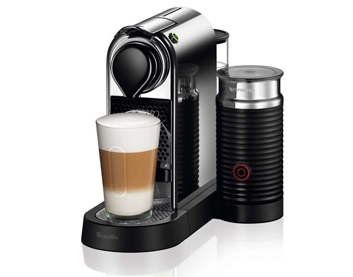 Breville BEC650MC Citiz and Milk Capsule Machine - Chrome