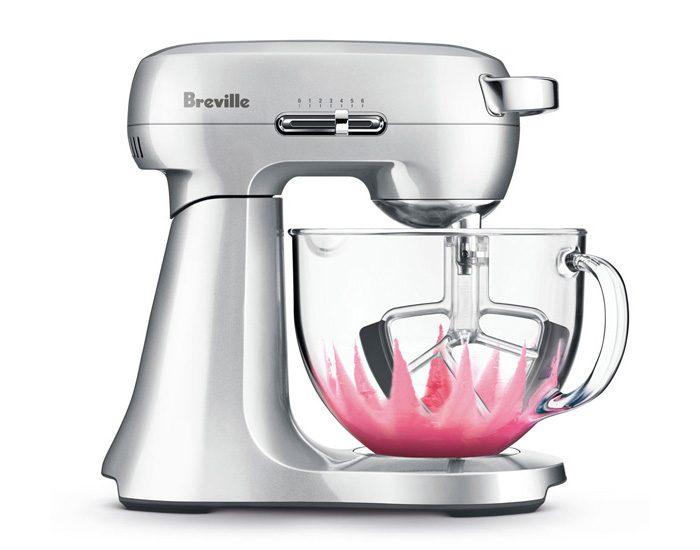 Breville BEM430SIL 800W the Scraper Mixer™ Food Mixer - Silver