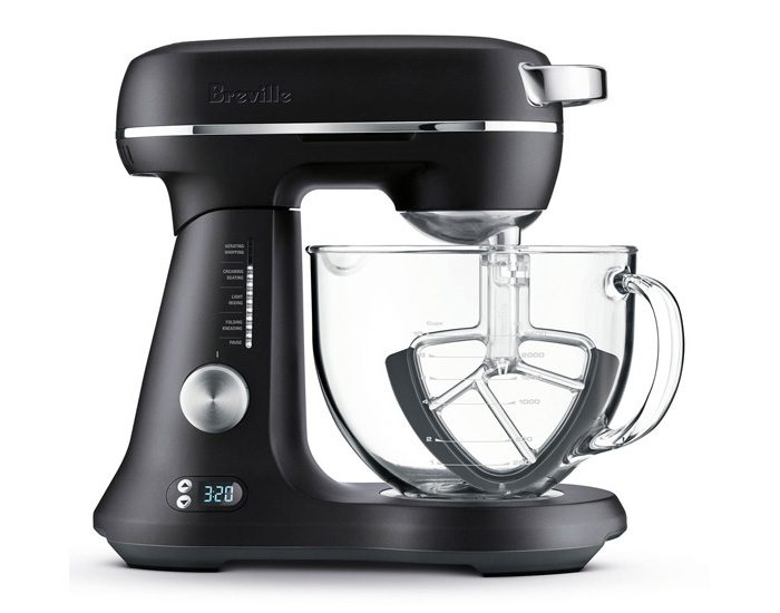 Breville BEM823BTR 1200W the Bakery Boss Food Mixer - Black
