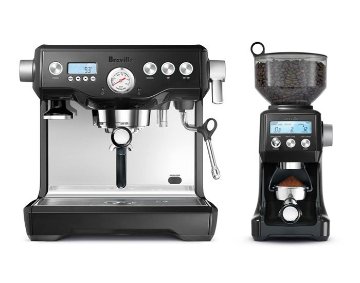 Breville BEP920BKS the Dynamic Duo™ Black Coffee Machine