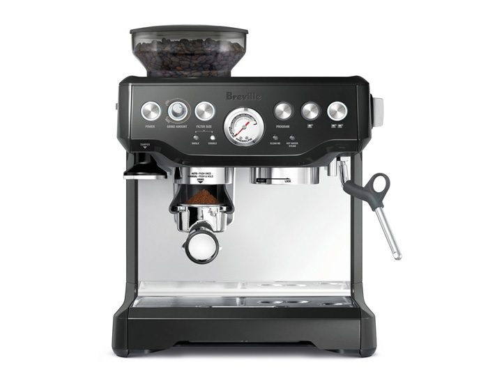 Breville BES870BKS The Barista Express Coffee Machine - Black Sesame