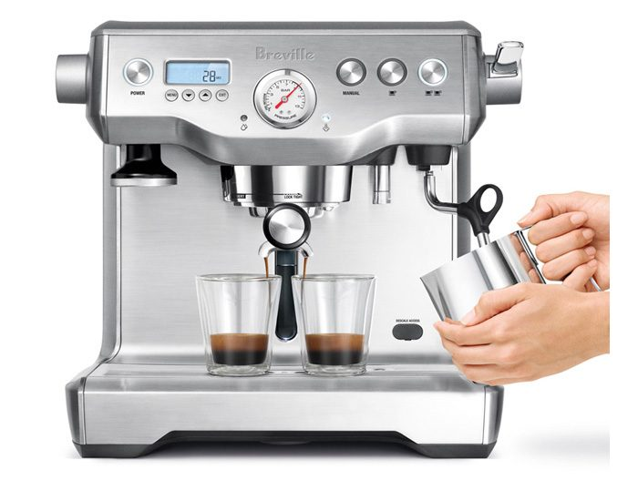 Breville BES920BSS The Dual Boiler Espresso Machine