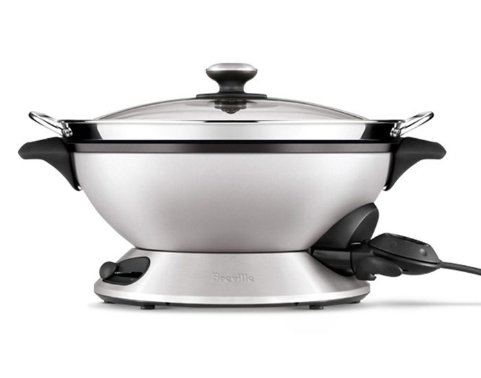Breville BEW820BSS 2400W the Hot Wok & Steam