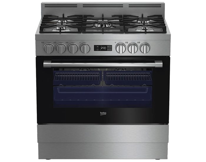 Beko BFC916GMX 90cm Stainless Steel Freestanding Multifunction Cooker