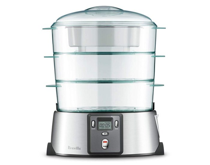 Breville BFS600BSS The Quick Steam Digital Food Steamer