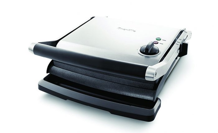 Breville BGR250BSS 2200W the Adjusta Grill & Press™ Contact Grill