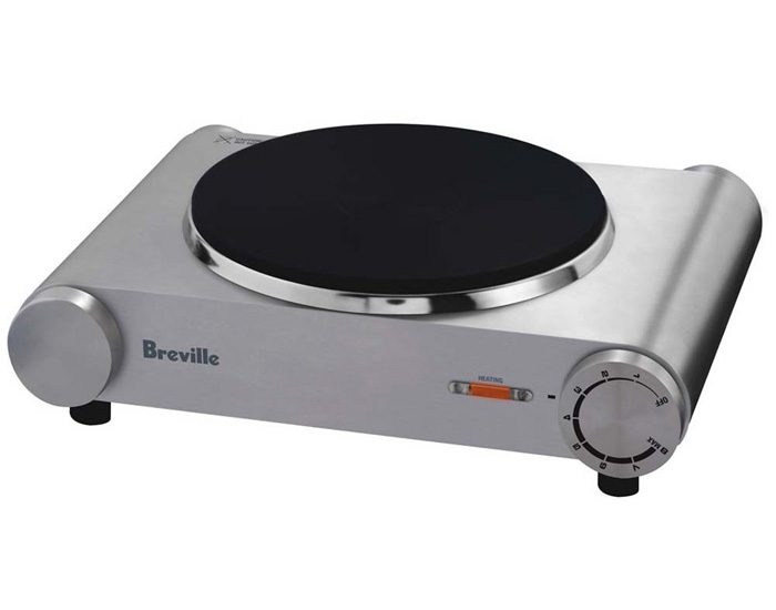 Breville BHP150BSS 1600W the Handy Hotplate™ Single Hotplate