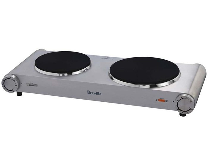 Breville BHP250BSS 2400W the Handy Hotplate™ Dual Hotplate