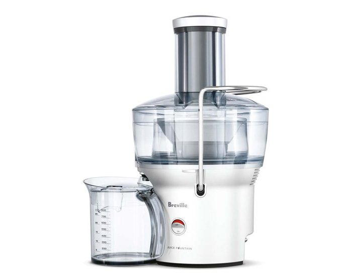 Breville BJE200SIL 900W the Juice Fountain Compact Juicer