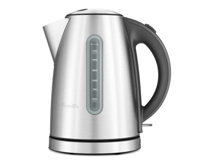 Breville BKE425BSS 1.7L the Soft Top Dual Kettle