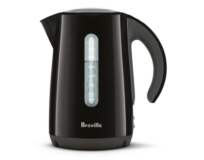 Breville BKE625BKS 1.7L the Soft Top® Kettle - Black
