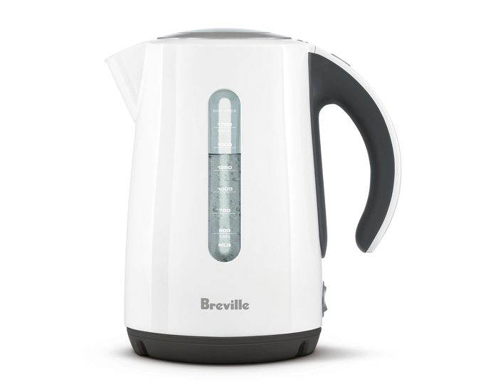 Breville BKE625WHT 1.7L the Soft Top® Kettle - White