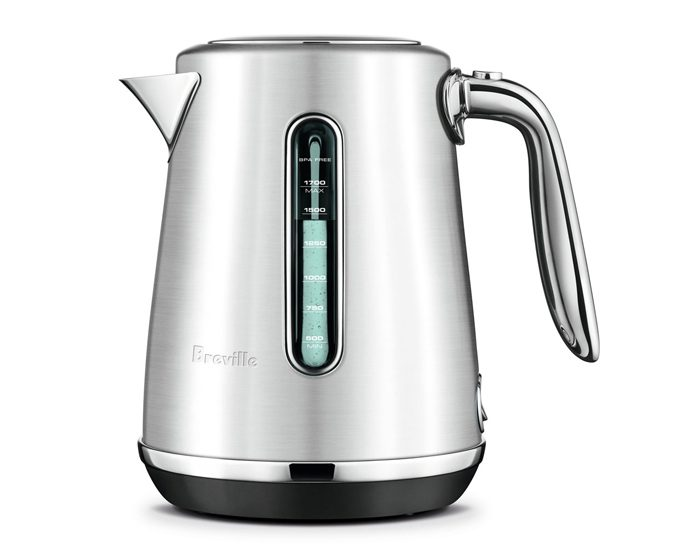 Breville BKE735BSS 1.7L the Soft Top® Luxe Kettle - Silver