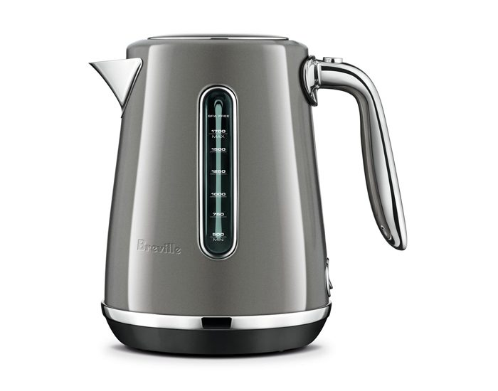 Breville BKE735SHY 1.7L the Soft Top® Luxe Kettle - Smoked Hickory