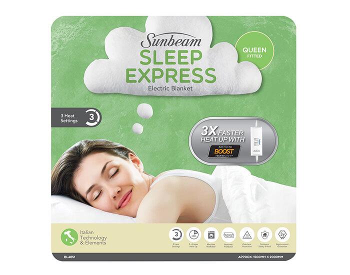 Sunbeam BL4851 Sleep Express 3T Queen