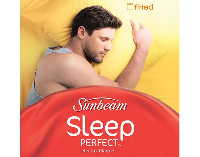 Sunbeam BL5121 Sleep Perfect Fitted Single