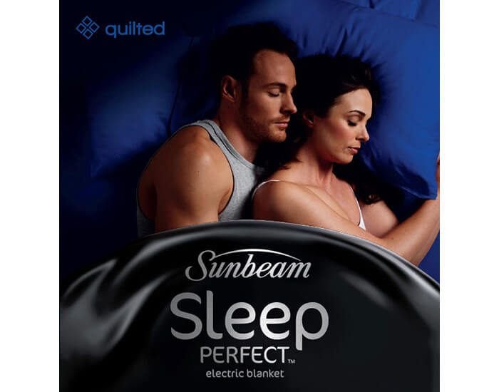 Sunbeam BL5471 Sleep Perfect King Quilted