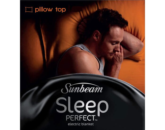 Sunbeam BL5551 Sleep Perfect Pillow Top Queen