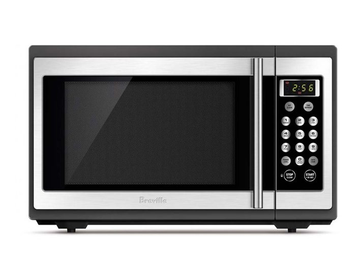 Breville BMO300BSS 1100W the Quick & Easy ™ Black Microwave