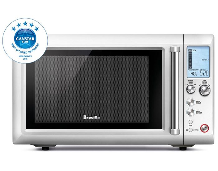 Breville BMO700BSS 900W the Quick Touch™ Crisp Microwave