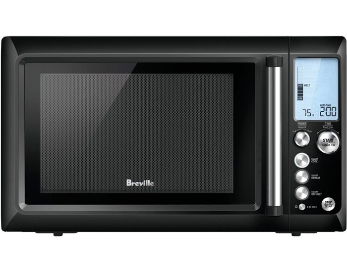 Breville BMO735BKS 1100W the Quick Touch™ Microwave - Black Sesame