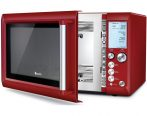 Breville BMO735CRN 1100W the Quick Touch™ Microwave - Cranberry