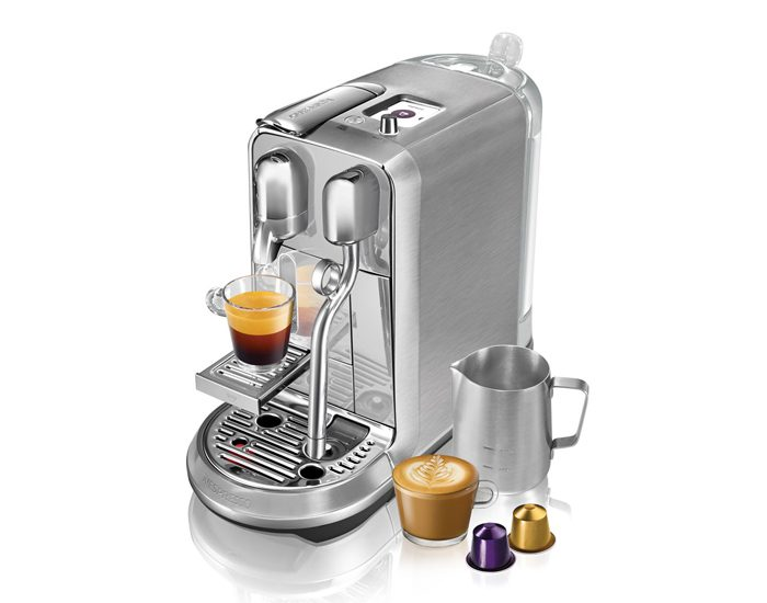 Breville BNE800BSS Creatista Plus Coffee Machine - Stainless Steel