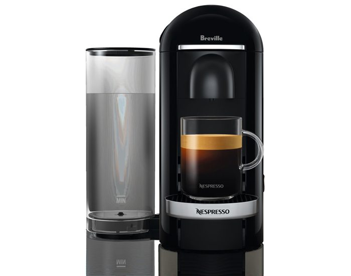 Breville BNV420BLK Vertuo Plus Black Deluxe Coffee Machine - Black