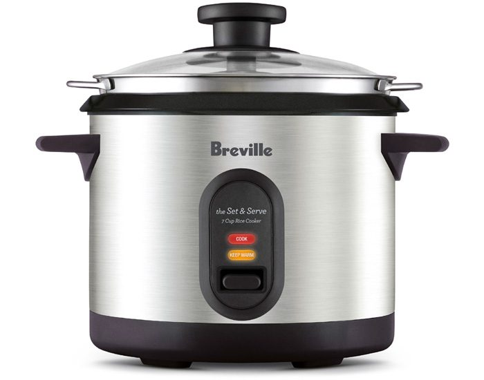 Breville BRC310BSS 7 Cup Rice Cooker