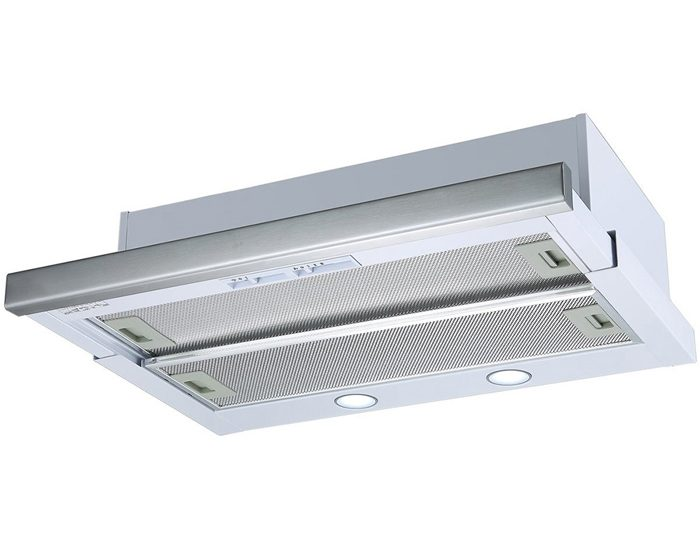 Beko BRH60TW 60cm Stainless Steel Telescopic Rangehood