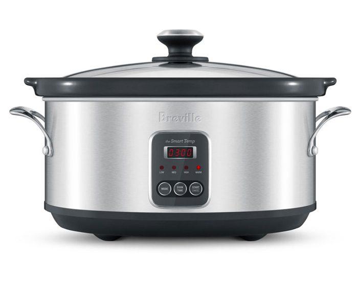Breville BSC420BSS 6L the Smart Temp™ Slow Cooker