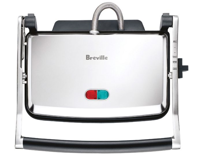 Breville BSG220BSS 2000W Toast & Melt™ Sandwich Press
